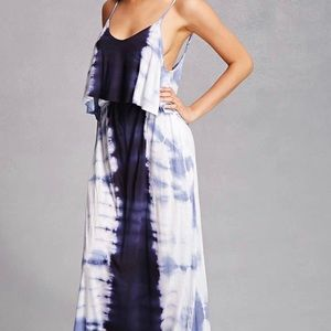 NWT Boho Me tie dye maxi dress